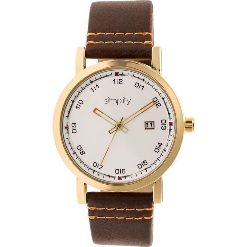 シンプリファイ メンズ 腕時計 アクセサリー The 5300 Watch Gold/Silver