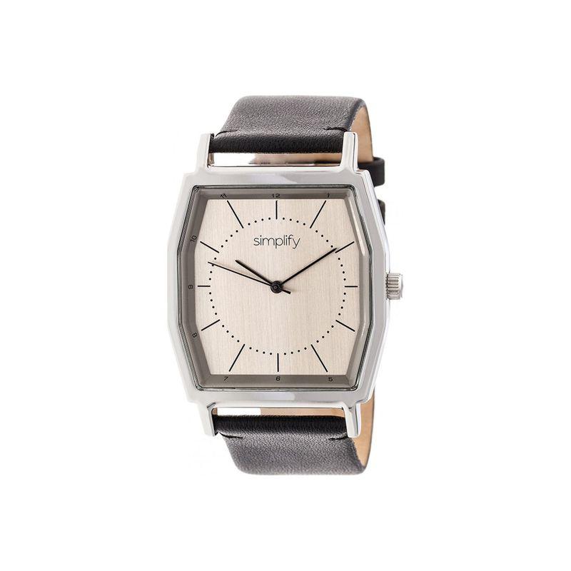 シンプリファイ メンズ 腕時計 アクセサリー The 5400 Watch Black/Silver/Pewter