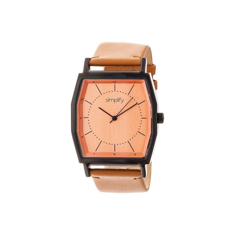 シンプリファイ メンズ 腕時計 アクセサリー The 5400 Watch Camel/Black/Orange