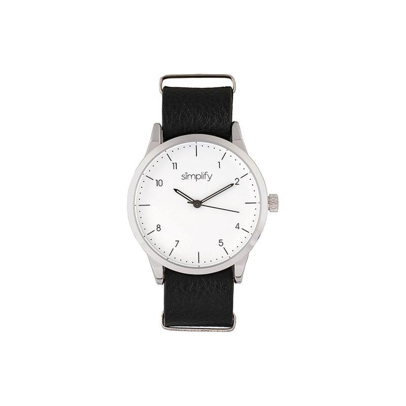 シンプリファイ メンズ 腕時計 アクセサリー The 5600 Watch Black/Silver/White