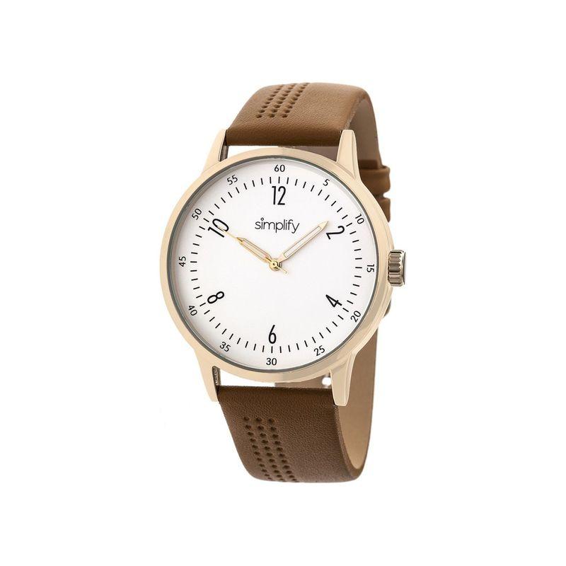 シンプリファイ メンズ 腕時計 アクセサリー The 5700 Watch Brown
