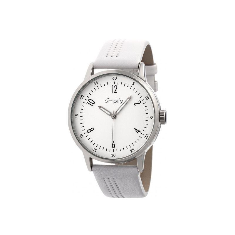 シンプリファイ メンズ 腕時計 アクセサリー The 5700 Watch White