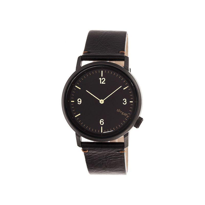 シンプリファイ メンズ 腕時計 アクセサリー The 5500 Watch Black/Black/Black