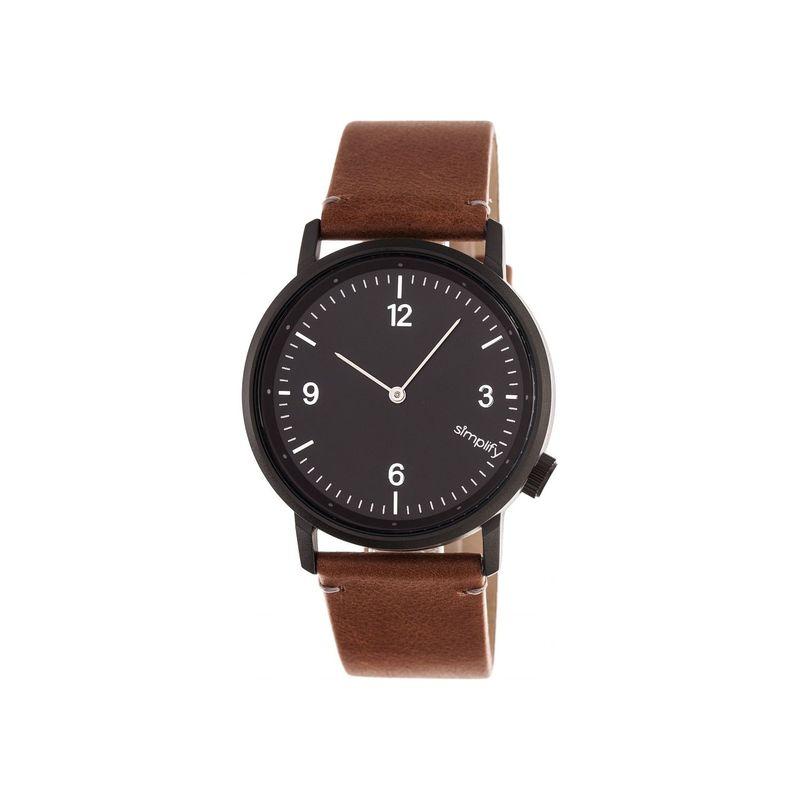 シンプリファイ メンズ 腕時計 アクセサリー The 5500 Watch Brown/Black/Black