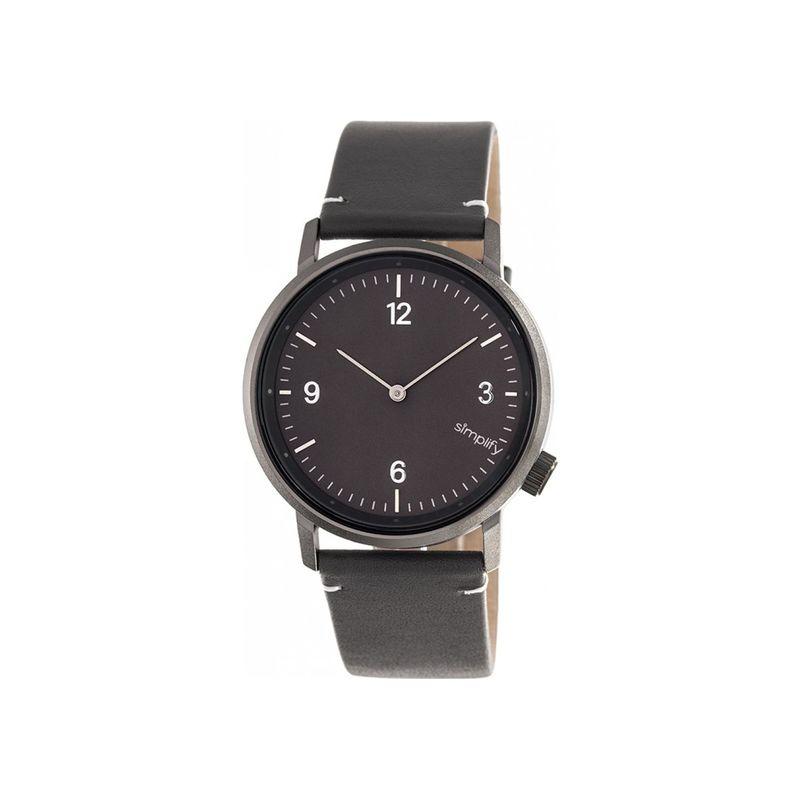 シンプリファイ メンズ 腕時計 アクセサリー The 5500 Watch Charcoal/Gunmetal/Charcoal
