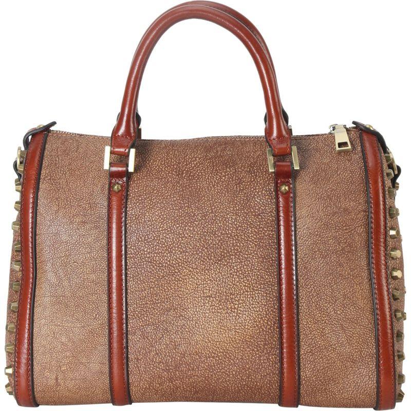 ディオフィ メンズ トートバッグ バッグ Studded Duffel Bag Bronze