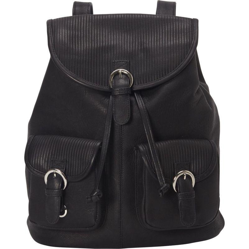 ピエール メンズ ハンドバッグ バッグ Impresso Small Two-Pocket Backpack Black
