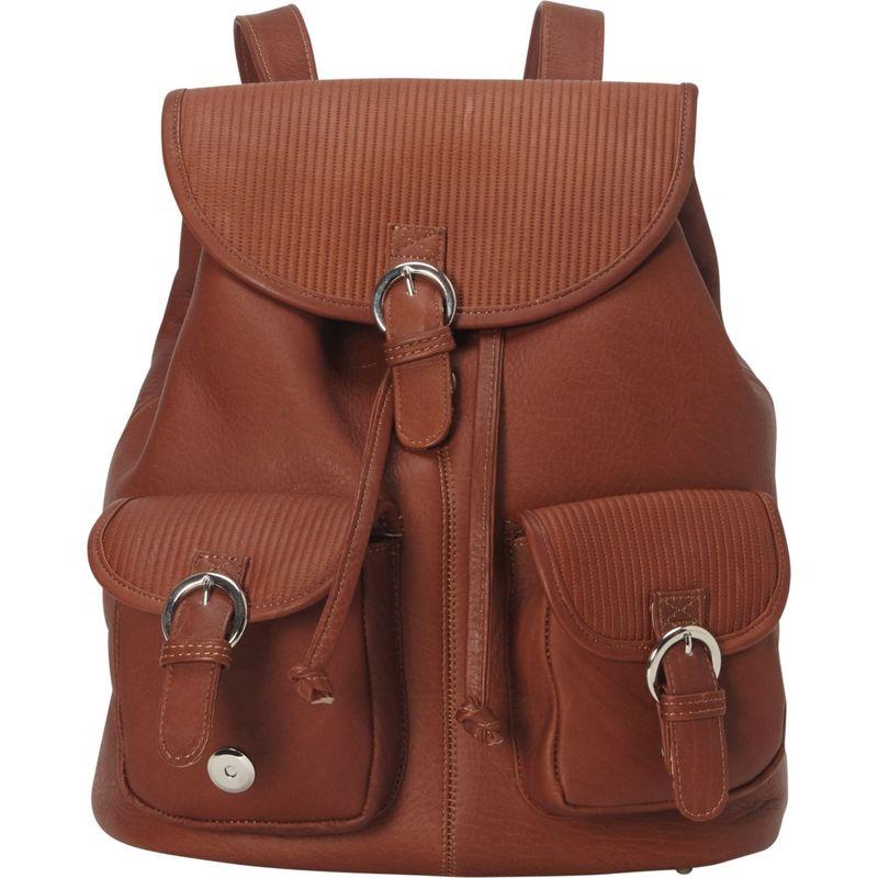 ピエール メンズ ハンドバッグ バッグ Impresso Small Two-Pocket Backpack Saddle
