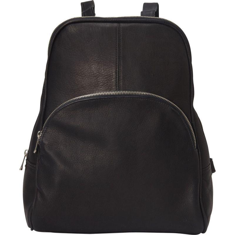 ピエール メンズ ハンドバッグ バッグ Slim Classic Backpack Black