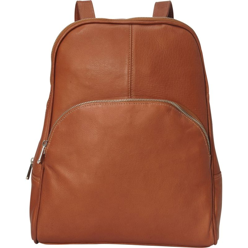 ピエール メンズ ハンドバッグ バッグ Slim Classic Backpack Saddle