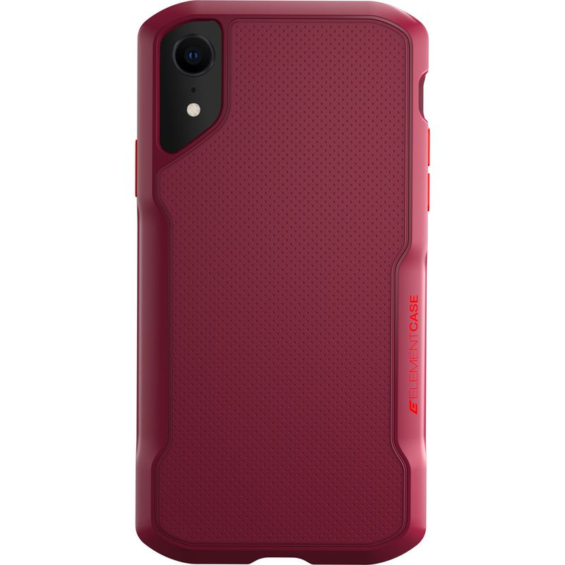 STMグッズ メンズ PC・モバイルギア アクセサリー Element Case Shadow Case for iPhone XR Red