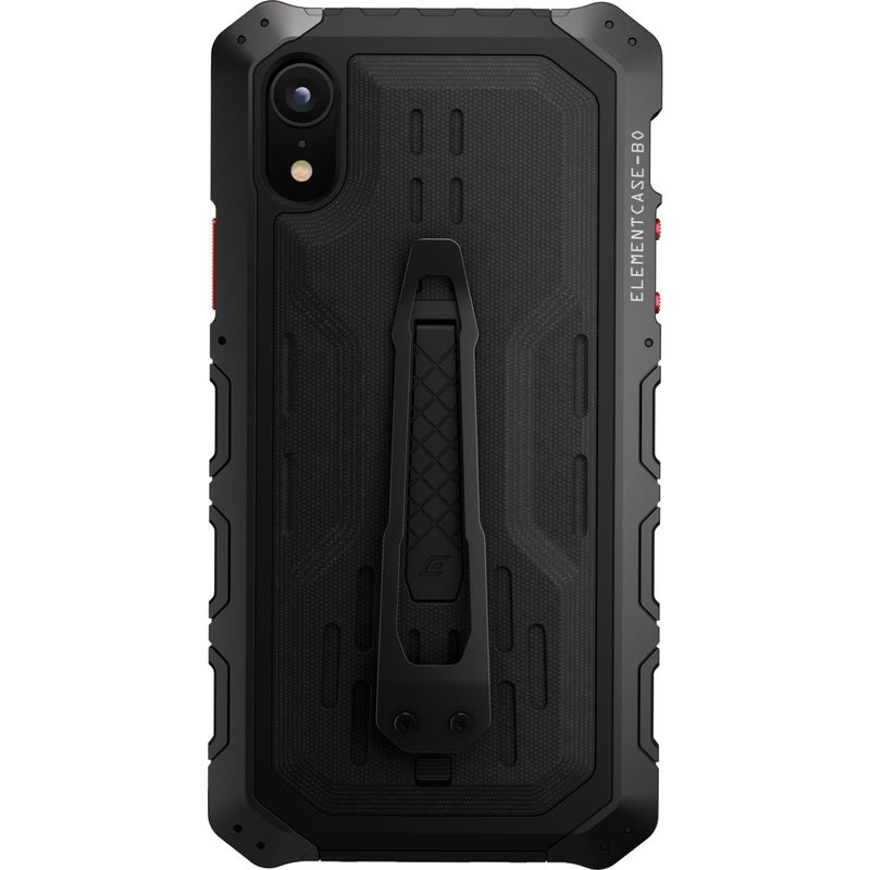 STMグッズ メンズ PC・モバイルギア アクセサリー Element Case Black Ops Elite Case for iPhone XR Black
