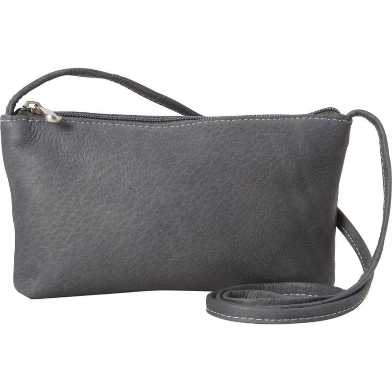 ルドネレザー メンズ ボディバッグ・ウエストポーチ バッグ Clover Mini Bag Gray