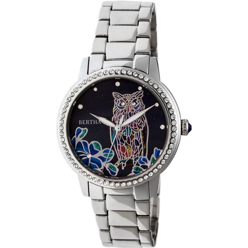 ベルサ メンズ 腕時計 アクセサリー Madeline Mother-of-Pearl Women's Watch Silver