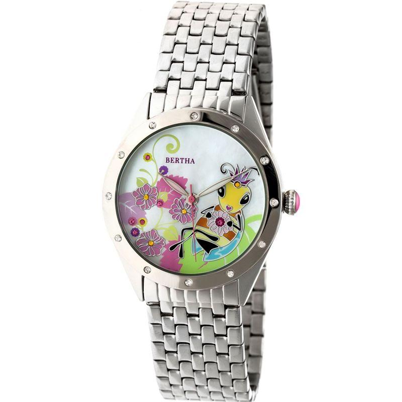 ベルサ メンズ 腕時計 アクセサリー Ericka Mother-of-Pearl Women's Watch Silver