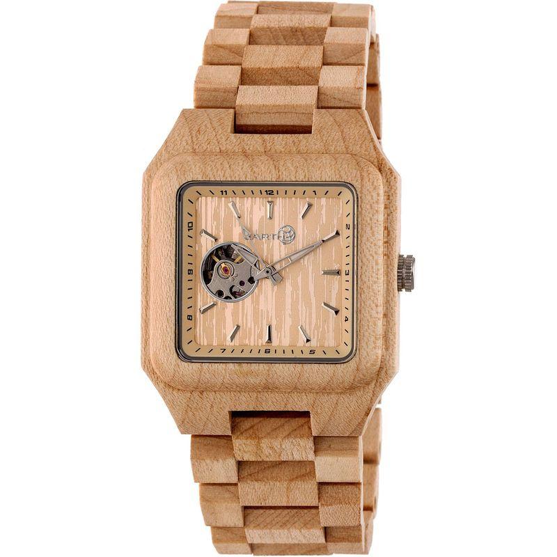 アースウッド メンズ 腕時計 アクセサリー Black Rock Watch Khaki/Tan