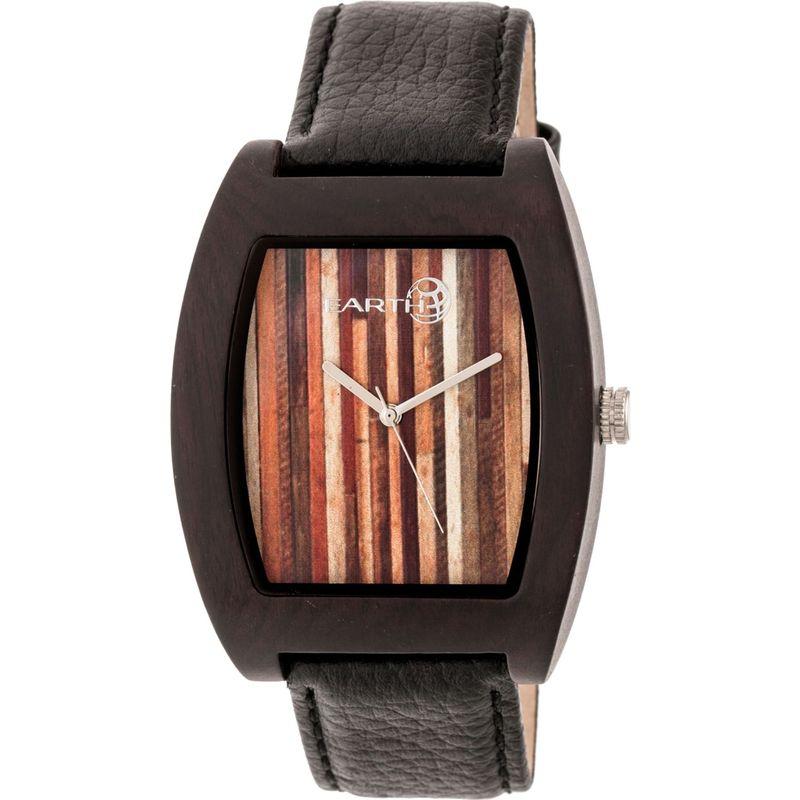 アースウッド メンズ 腕時計 アクセサリー Cedar Watch Dark Brown