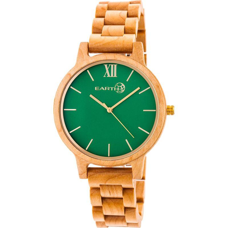 アースウッド メンズ 腕時計 アクセサリー Pike Watch Khaki/Tan