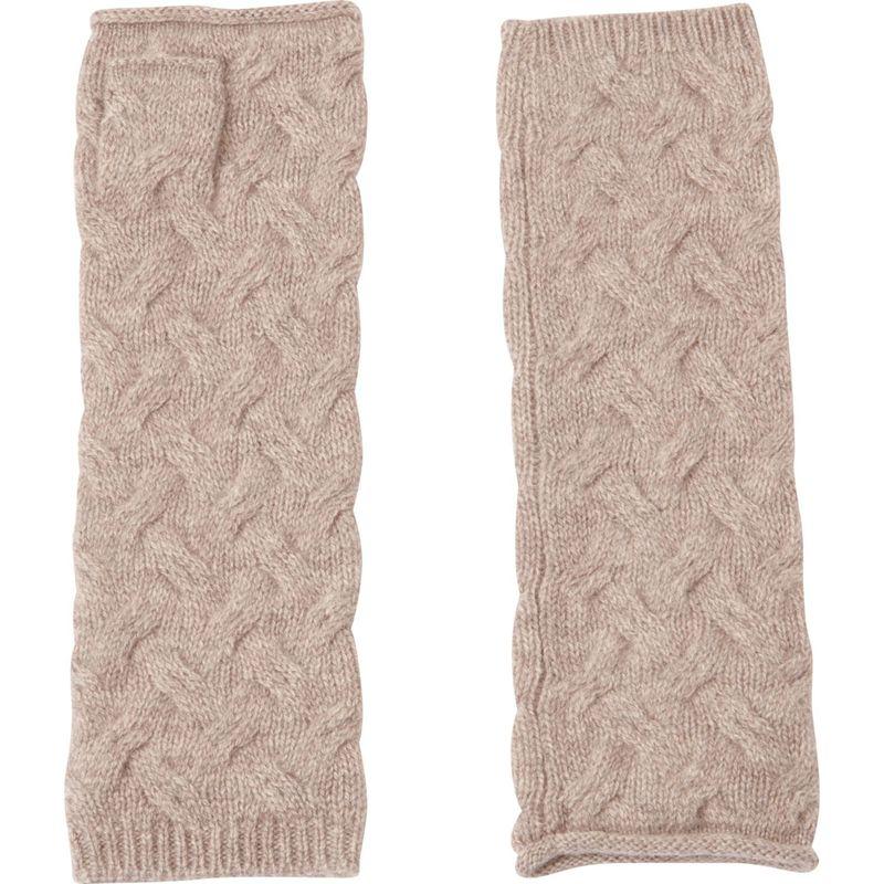 キンロスカシミア レディース 手袋 アクセサリー Cable Texting Gloves One Size - Antler