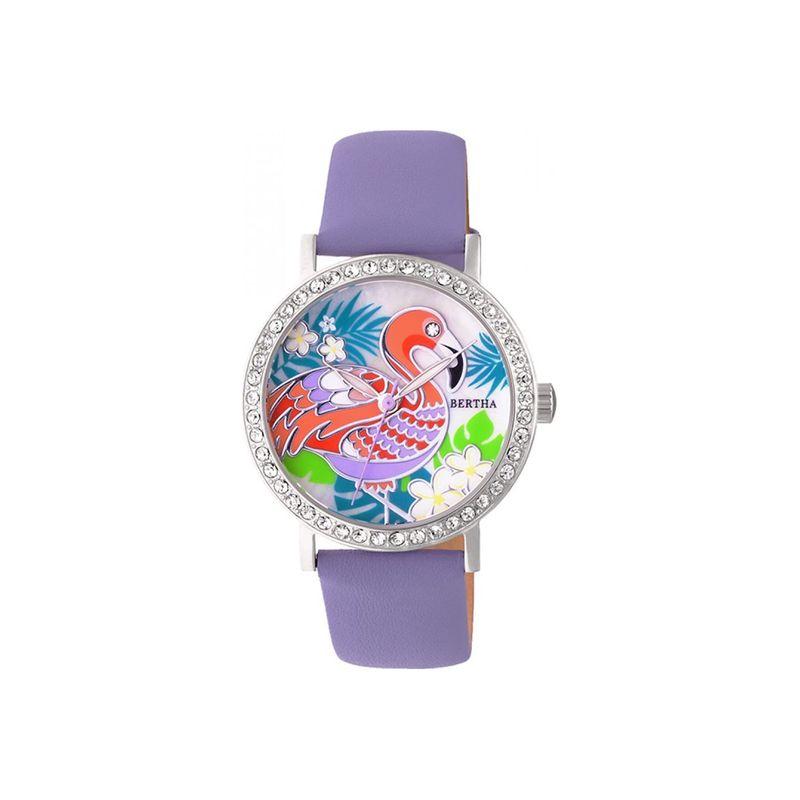 ベルサ メンズ 腕時計 アクセサリー Womens Luna Mother-Of-Pearl Watch Lavender