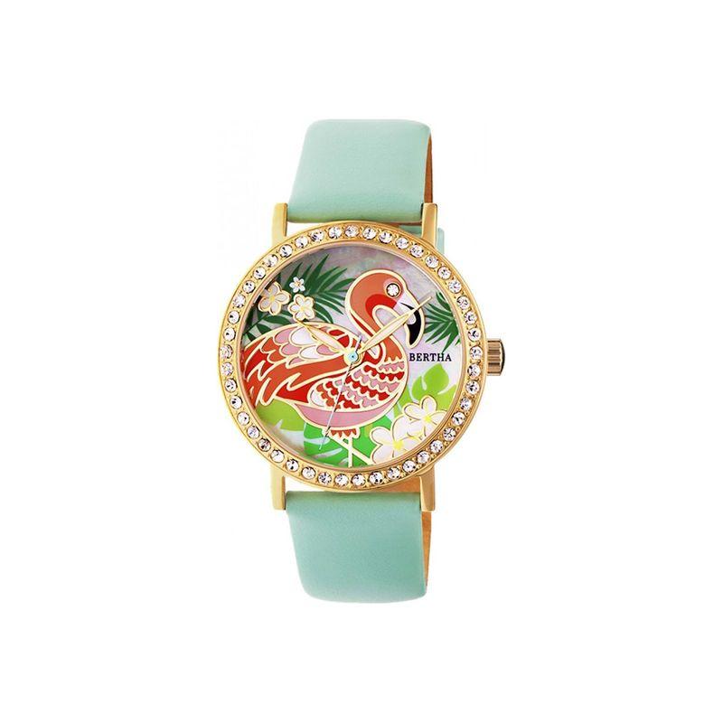 ベルサ メンズ 腕時計 アクセサリー Womens Luna Mother-Of-Pearl Watch Mint