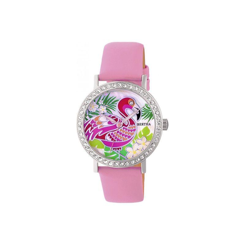ベルサ メンズ 腕時計 アクセサリー Womens Luna Mother-Of-Pearl Watch Pink