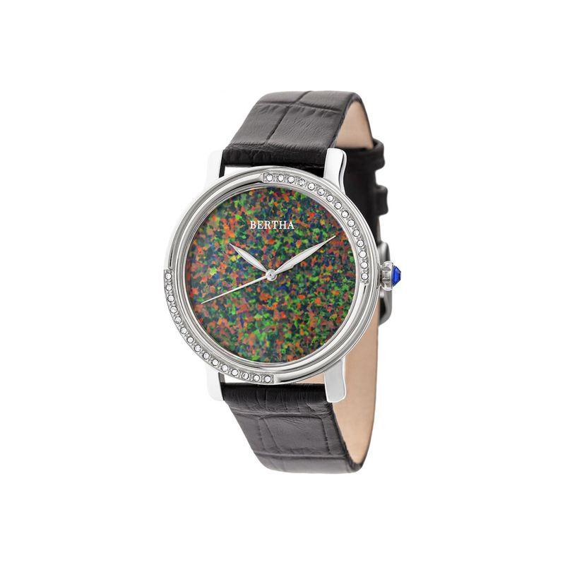 ベルサ メンズ 腕時計 アクセサリー Womens Courtney Opal Dial Watch Black