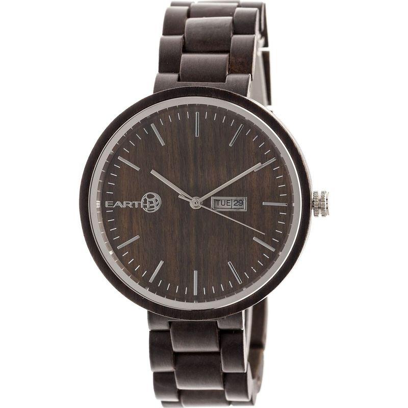 アースウッド メンズ 腕時計 アクセサリー Mimosa Bracelet Watch Dark Brown