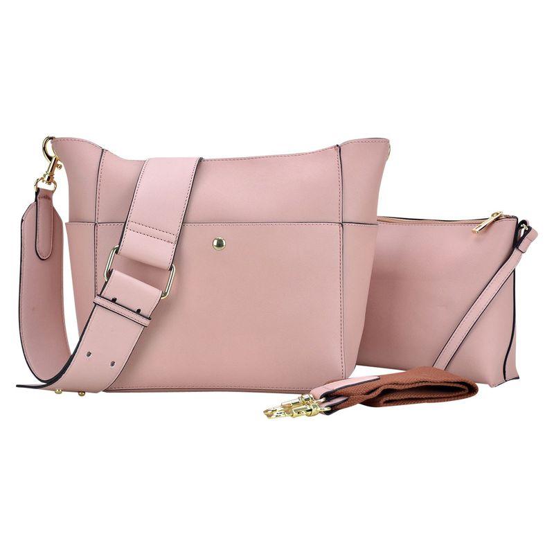 ダセイン メンズ ハンドバッグ バッグ 2-in-1 Mini Hobo Pink