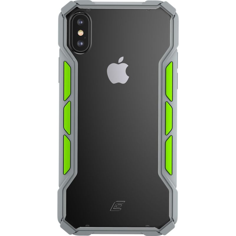 STMグッズ メンズ PC・モバイルギア アクセサリー Element Case Rally Case for iPhone XS Max Light Grey/Lime