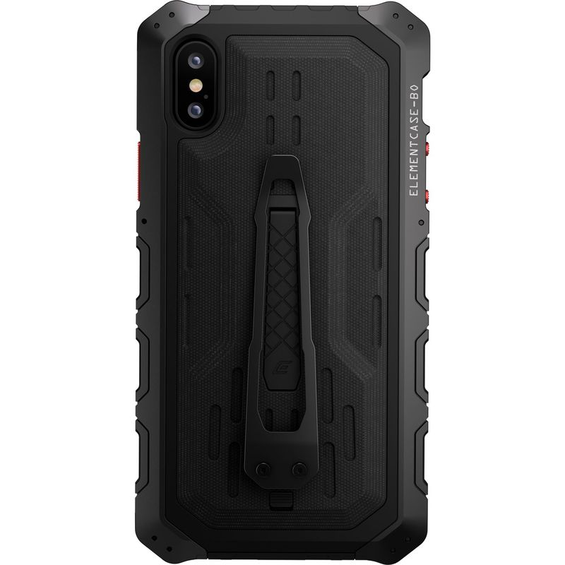 STMグッズ メンズ PC・モバイルギア アクセサリー Element Case Black Ops Elite Case for iPhone XS Max Black