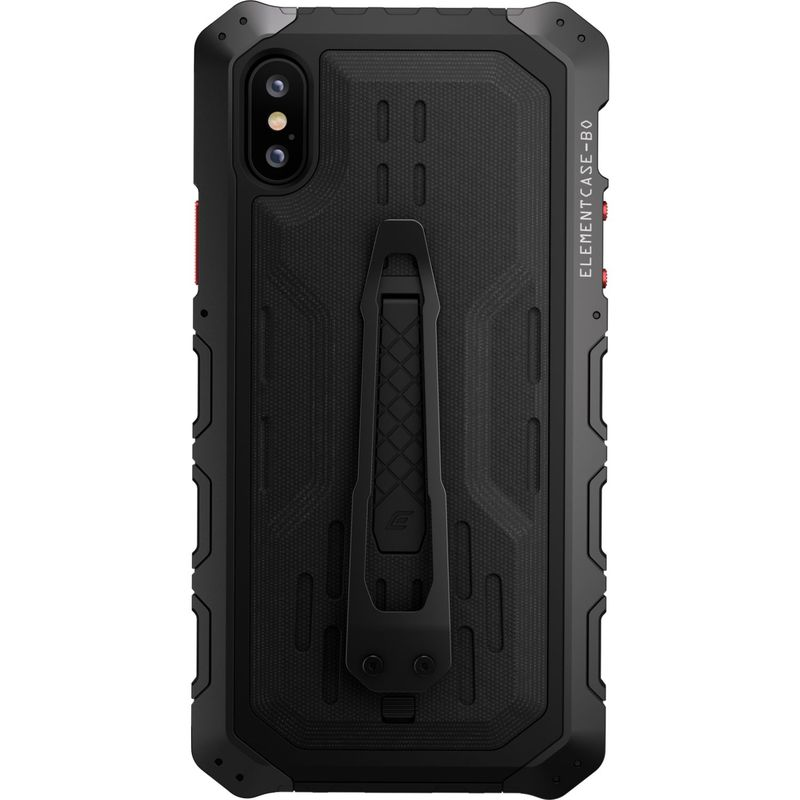 STMグッズ メンズ PC・モバイルギア アクセサリー Element Case Black Ops Elite Case for iPhone XS/X Black