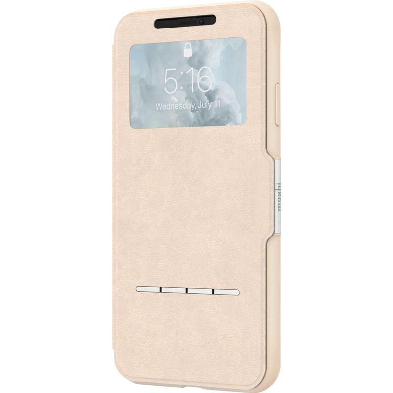 モシ メンズ PC・モバイルギア アクセサリー SenseCover Touch-Sensitive Portfolio Case for iPhone XS Max Savanna Beige