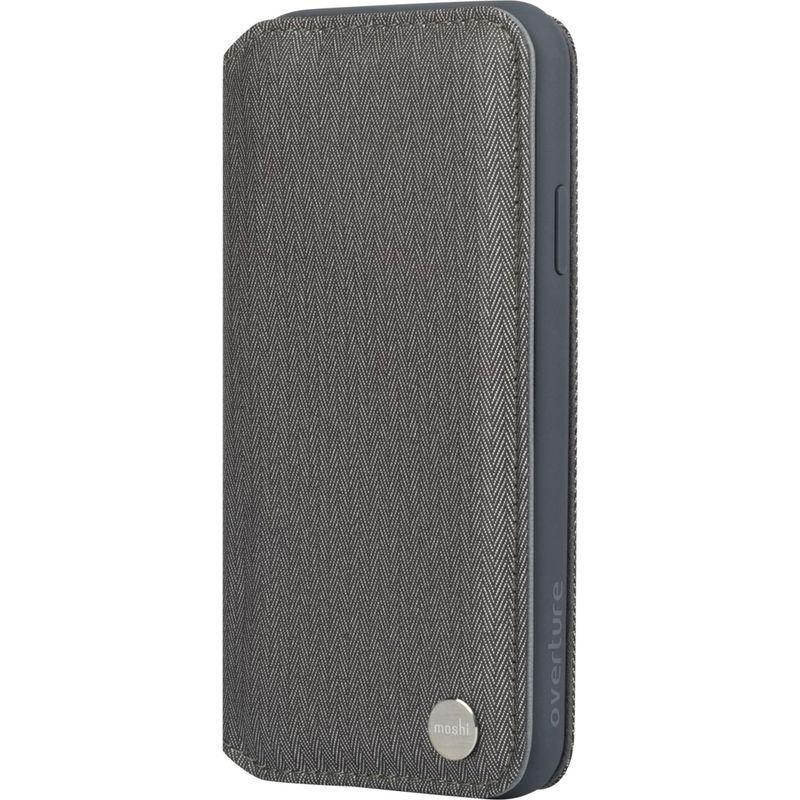モシ メンズ PC・モバイルギア アクセサリー Overture Premium Wallet Case for iPhone XR Herringbone Gray