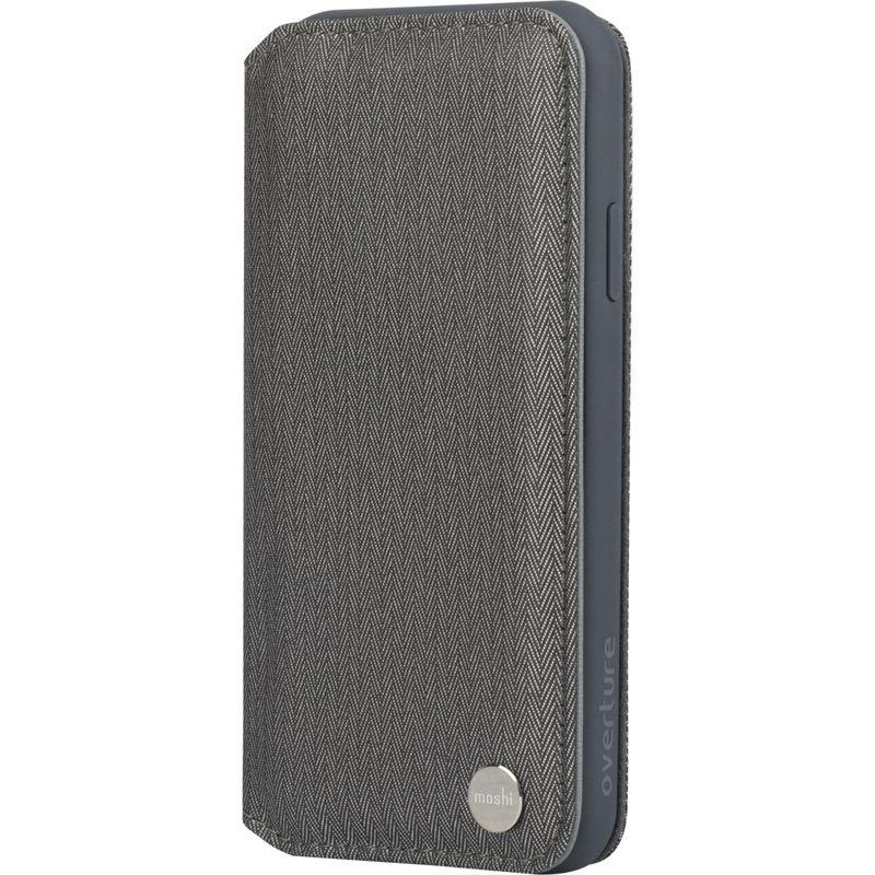 モシ メンズ PC・モバイルギア アクセサリー Overture Premium Wallet Case for iPhone XS Max Herringbone Gray