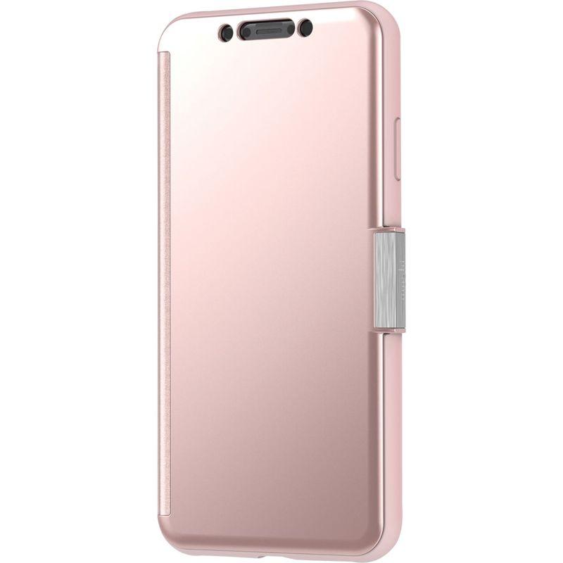 モシ メンズ PC・モバイルギア アクセサリー StealthCover Portfolio Case for iPhone XS Max Champagne Pink