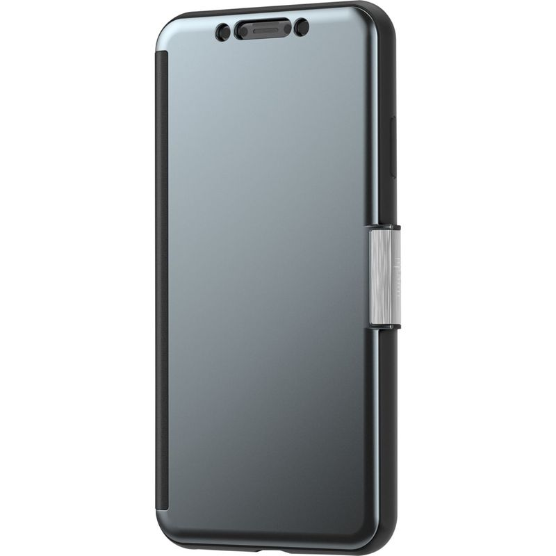 モシ メンズ PC・モバイルギア アクセサリー StealthCover Portfolio Case for iPhone XS Max Gunmetal Grey