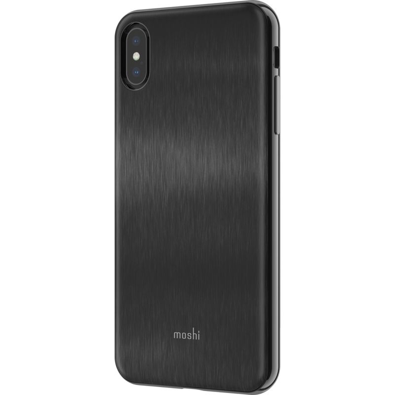 モシ メンズ PC・モバイルギア アクセサリー iGlaze Slim Hardshell Case for iPhone XS Max Armour Black