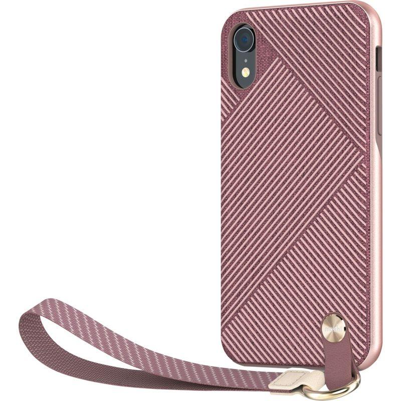 モシ メンズ PC・モバイルギア アクセサリー Altra Slim Hardshell Case with Strap for iPhone XR Blossom Pink