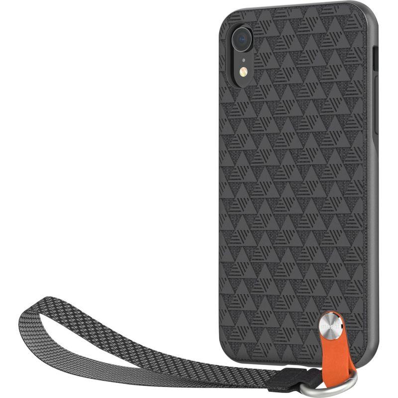 モシ メンズ PC・モバイルギア アクセサリー Altra Slim Hardshell Case with Strap for iPhone XR Shadow Black