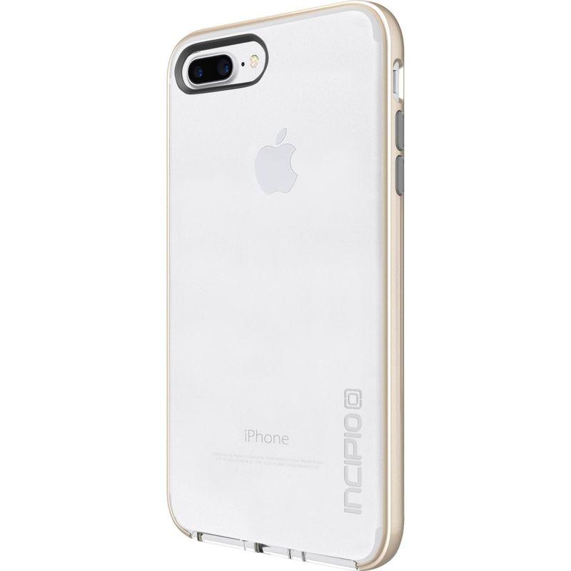 インシピオ メンズ PC・モバイルギア アクセサリー Reprieve [LUX] for iPhone 7 Plus Clear/Iridescent Champagne/Light Gray(CCG)