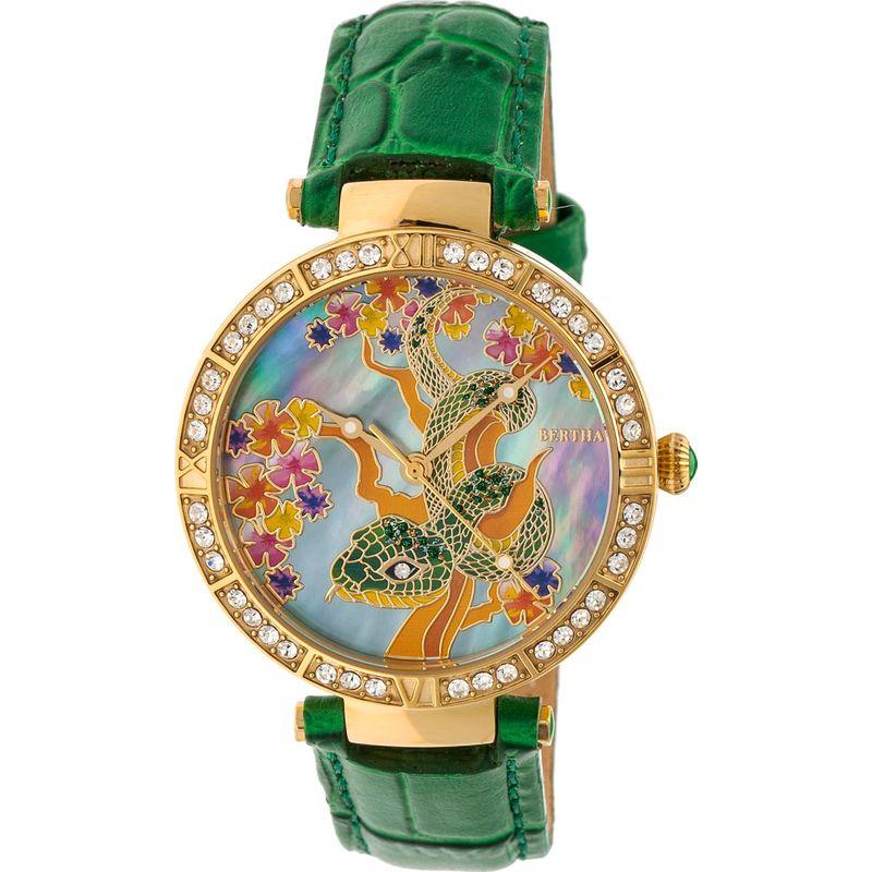ベルサ メンズ 腕時計 アクセサリー Mia Mother-of-Pearl Women's Watch Green