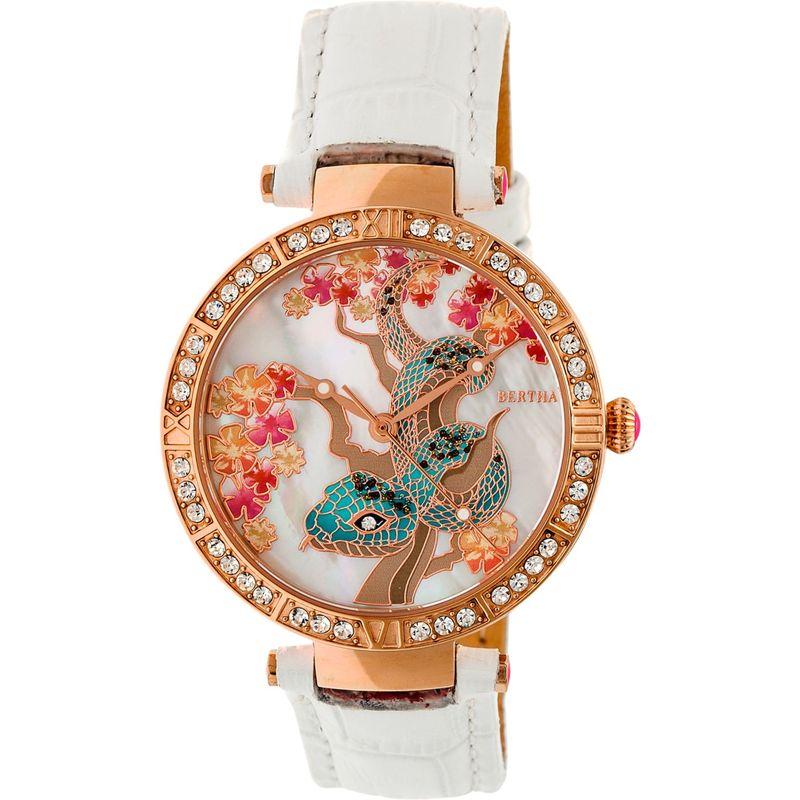 ベルサ メンズ 腕時計 アクセサリー Mia Mother-of-Pearl Women's Watch White