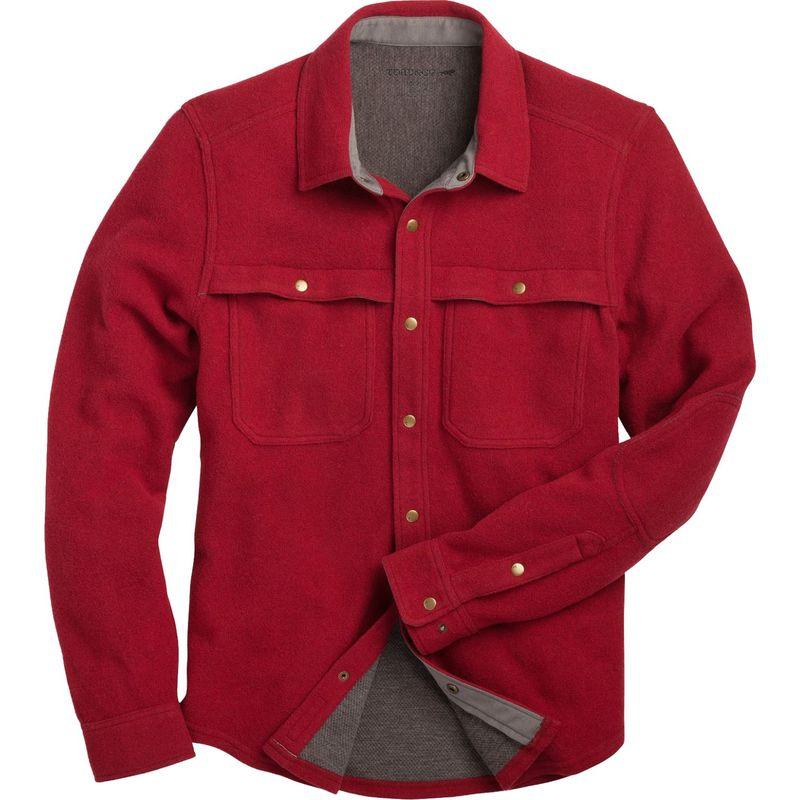 トードアンドコー メンズ シャツ トップス Mens Kennicott Shirt Jac XL - Ketchup