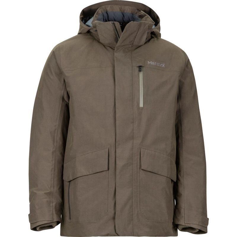 マーモット メンズ ジャケット・ブルゾン アウター Yorktown Featherless Jacket S - Deep Olive