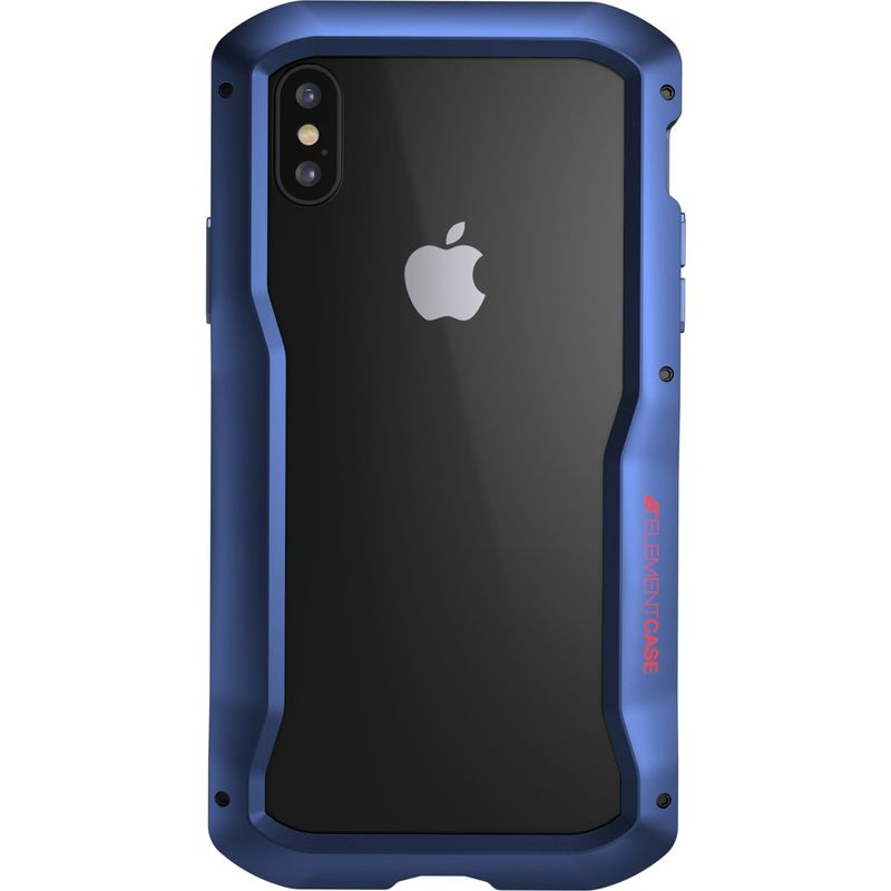 STMグッズ メンズ PC・モバイルギア アクセサリー Element Case Vapor Case for iPhone XS/X Blue