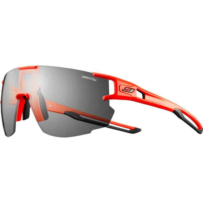 ジュルボ メンズ サングラス・アイウェア アクセサリー AeroSpeed Sunglasses with Reactiv Performance 0/3 Lenses Neon Orange/Black