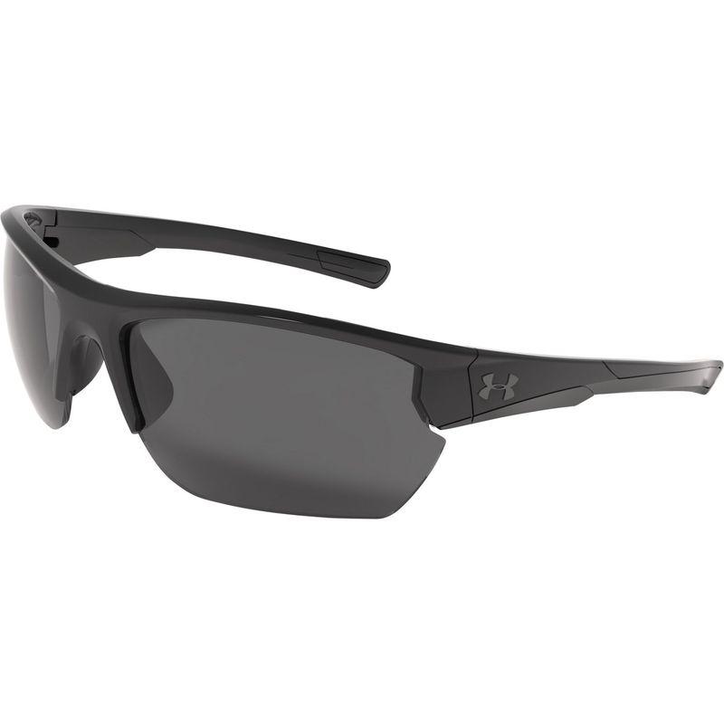 アンダーアーマー メンズ サングラス・アイウェア アクセサリー Propel Sunglasses Shiny Black/Black Frame/Gray Lens
