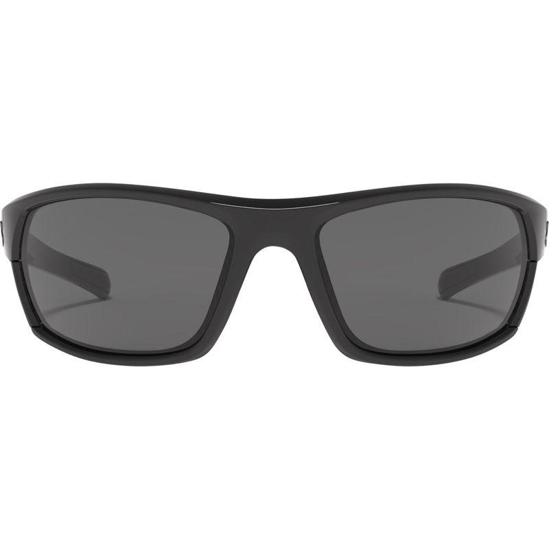 アンダーアーマー メンズ サングラス・アイウェア アクセサリー Powerbrake Sunglasses Storm (Ansi) Shiny Black/Black/Gray Polarized Lens