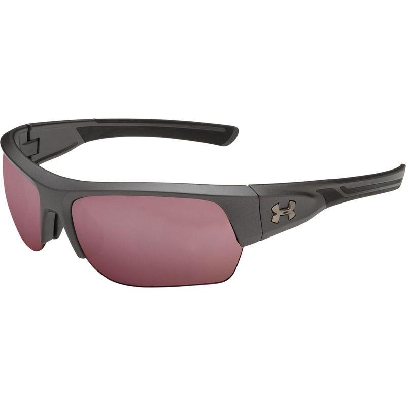 アンダーアーマー メンズ サングラス・アイウェア アクセサリー Big Shot Sunglasses Satin Carbon/Black/Golf